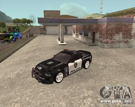 Ford Shelby GT500 2010 Police para GTA San Andreas