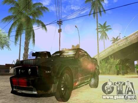 Ford Mustang Death Race para la visión correcta GTA San Andreas