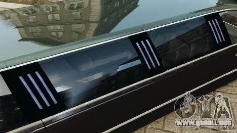 Lincoln Town Car Limousine 2006 para GTA motor 4