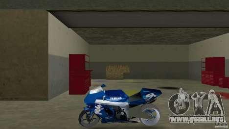 Yamaha Sportbike beta 1.0 para GTA Vice City left