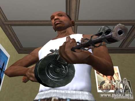 PPSH-41 para GTA San Andreas segunda pantalla