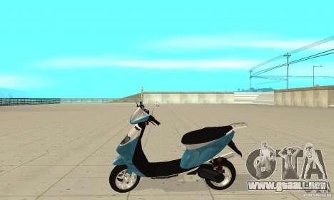 GTAIV Faggio para GTA San Andreas left
