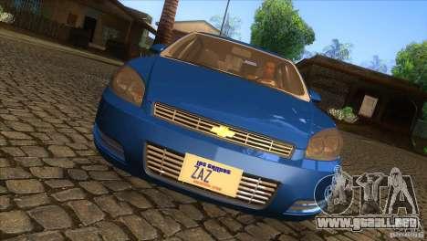 Chevrolet Impala para visión interna GTA San Andreas