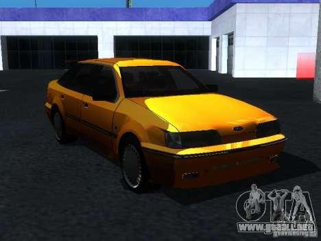 Ford Sierra Mk1 Sedan para la visión correcta GTA San Andreas