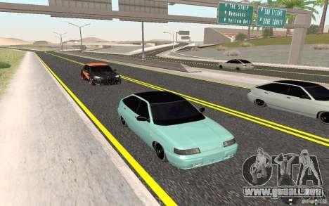 Ajuste ligero VAZ-2112 para GTA San Andreas