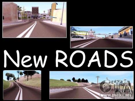 New Roads para GTA San Andreas