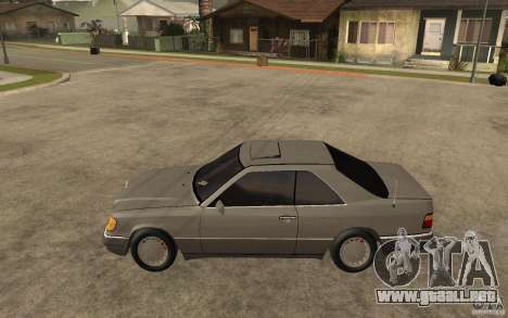 Mercedes-Benz E320 C124 para GTA San Andreas left