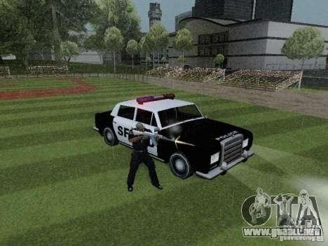 Stafford Police SF para la visión correcta GTA San Andreas