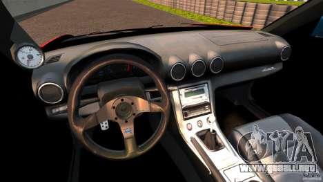 Nissan Silvia S15 Evil Empire para GTA 4 vista hacia atrás