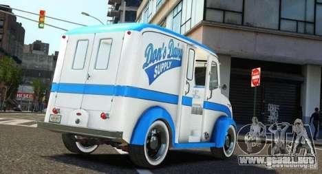 Ford Divco Milk and Icecream Van 1955-56 para GTA 4 left