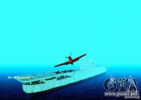 Battle Ship para GTA San Andreas sucesivamente de pantalla