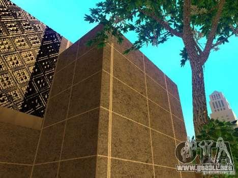Edificio nuevo en Los Santos para GTA San Andreas sucesivamente de pantalla