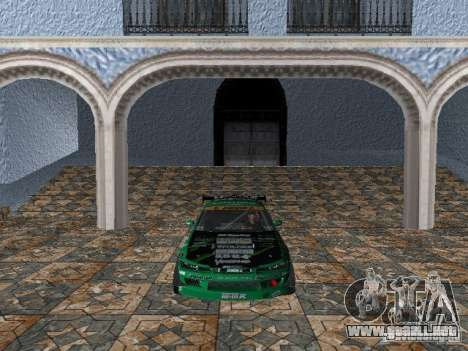 Nissan Silvia S15 Kei Office D1GP para GTA Vice City left
