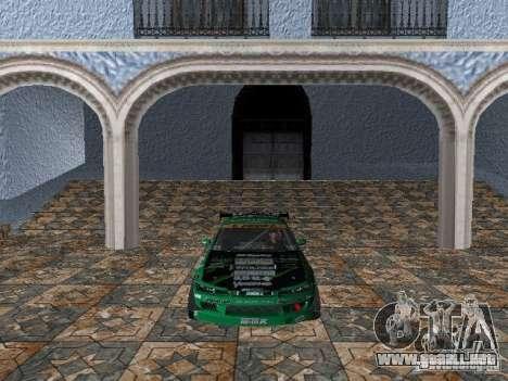Nissan Silvia S15 Kei Office D1GP para GTA Vice City left