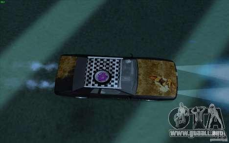 Elegy Rat by Kalpak v1 para GTA San Andreas vista hacia atrás