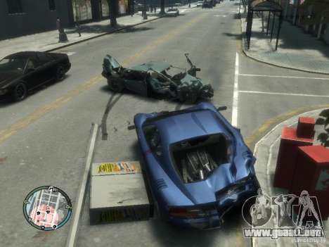 Daño coche realista para GTA 4