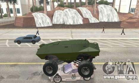 Trail Monster V.1.0 para visión interna GTA San Andreas