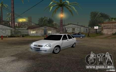 Luz sintonización hatchback LADA priora para GTA San Andreas