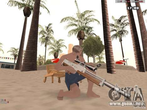 Woody Weapons Pack para GTA San Andreas sucesivamente de pantalla