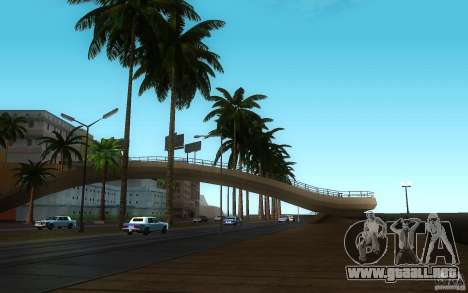 Vegetación perfecta v. 2 para GTA San Andreas tercera pantalla