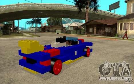 LEGO móvil para la visión correcta GTA San Andreas