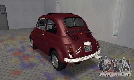 Fiat Abarth 595 SS 1968 para la visión correcta GTA San Andreas