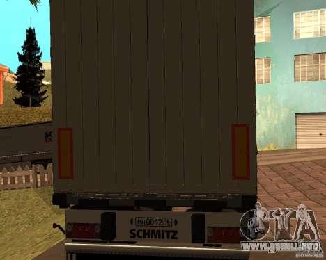 Schmitz para GTA San Andreas left