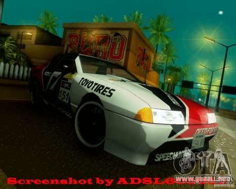 Need for Speed Elegy para la visión correcta GTA San Andreas