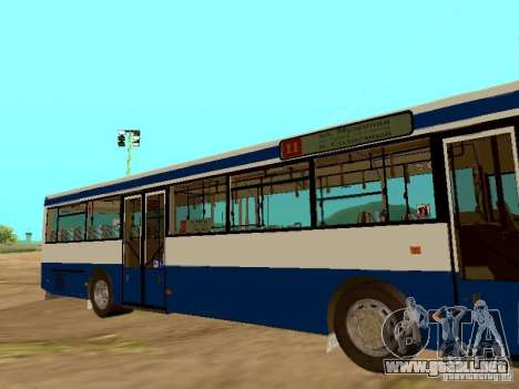 MAN SL202 para GTA San Andreas left