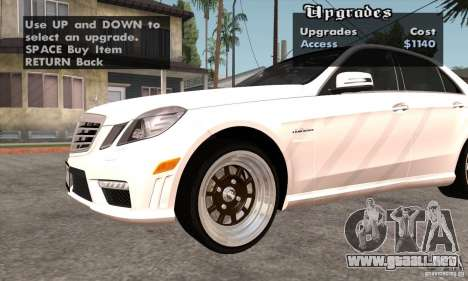 Wheels Pack by EMZone para GTA San Andreas sexta pantalla