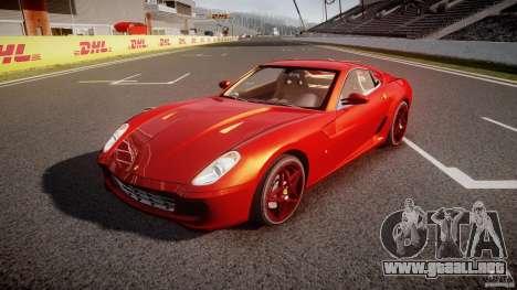Ferrari 599 GTB Fiorano 2006 (Beta) para GTA 4