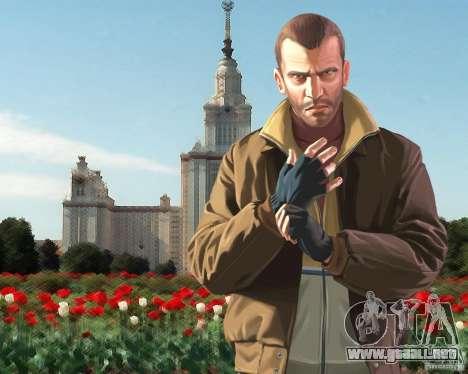 Pantalla de arranque de Rusia en América para GTA 4 segundos de pantalla