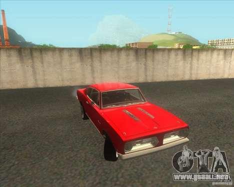 Plymouth Barracuda 1968 para la visión correcta GTA San Andreas