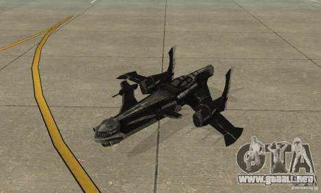 Hydra TimeShift Skin 2 para GTA San Andreas left