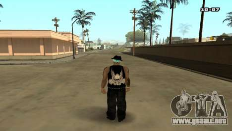 Skin Pack The Rifa para GTA San Andreas