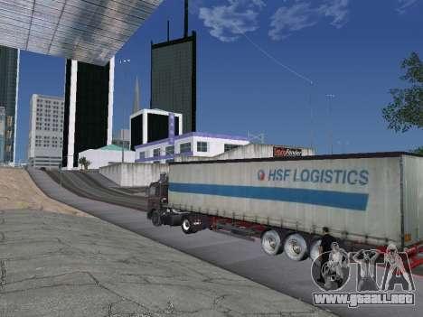 5551 MAZ koljós para la vista superior GTA San Andreas