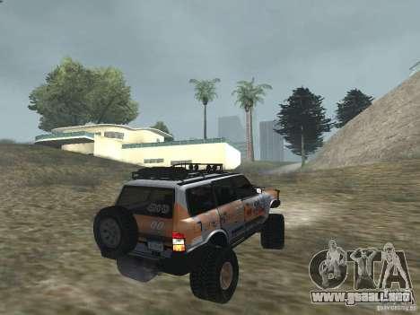 Tornalo 2209SX 4x4 para GTA San Andreas left