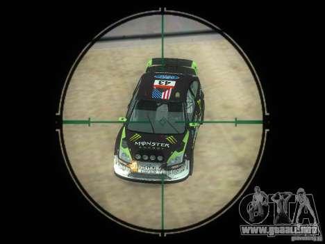 Rifle VSS Vintorez para GTA San Andreas quinta pantalla