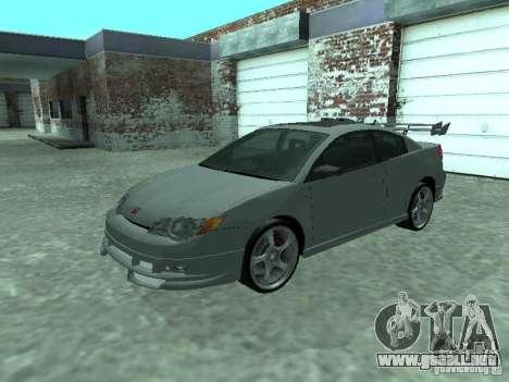 Saturn Ion Quad Coupe 2004 para GTA San Andreas interior