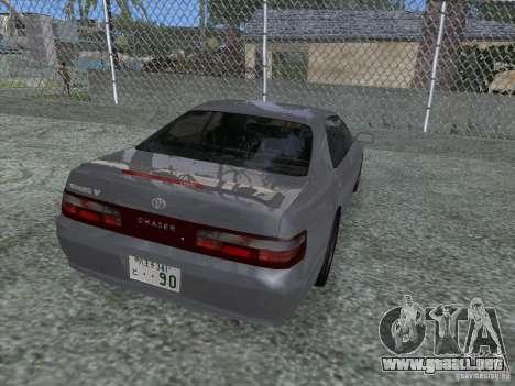 Toyota Chaser JZX90 Stock para GTA San Andreas left
