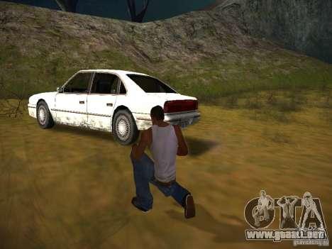 ENBSeries by GaTa para GTA San Andreas octavo de pantalla