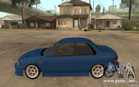 Subaru Impreza GC8 JDM SPEC para GTA San Andreas left