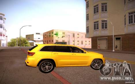 ENBSeries para más débiles PC v2.0 para GTA San Andreas séptima pantalla