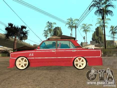 VAZ 2107 Chispita para GTA San Andreas left