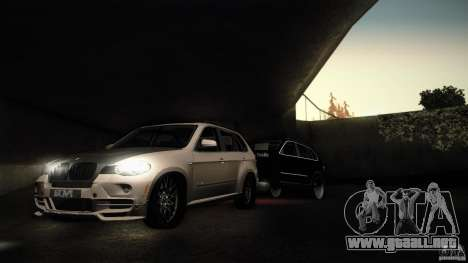 BMW X5 with Wagon BEAM Tuning para GTA San Andreas left