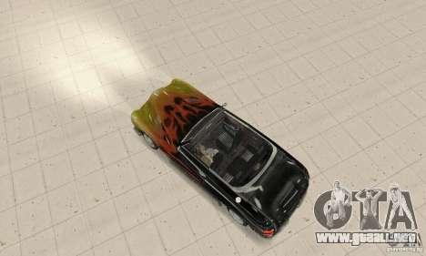 Flat Out Style para GTA San Andreas vista posterior izquierda