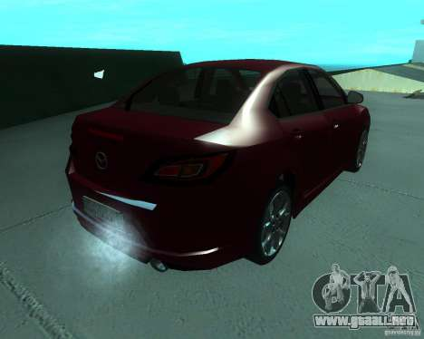 Mazda 6 2010 para GTA San Andreas left