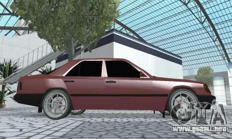 Mercedes-Benz 200D para la visión correcta GTA San Andreas
