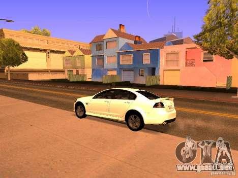 Chevrolet Lumina para GTA San Andreas vista posterior izquierda