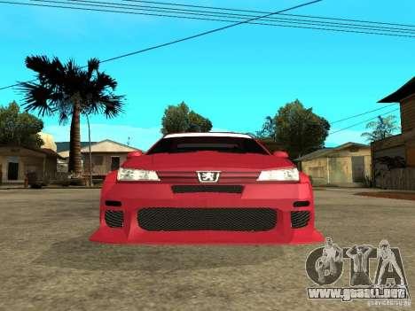 Peugeot 406 para la visión correcta GTA San Andreas